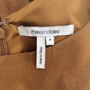 Max & Cleo Dresses - Max & Cleo Gold Dress
